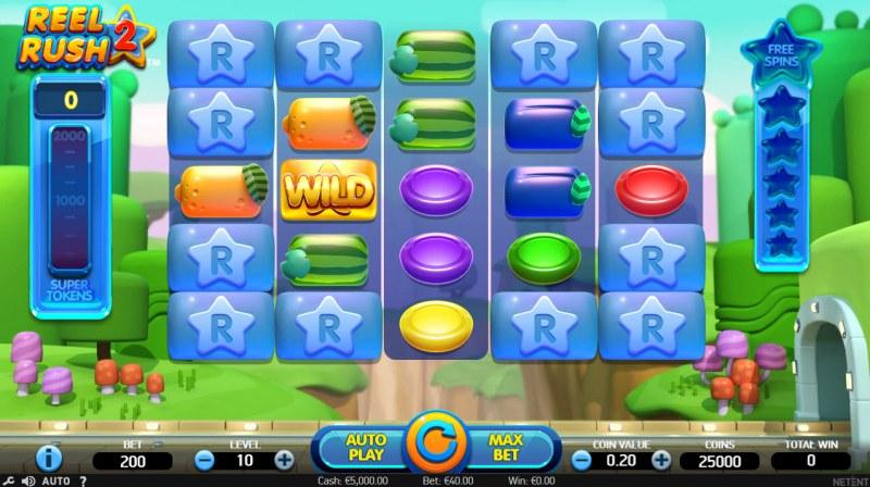 Reel Rush 2 :: Main Game Board