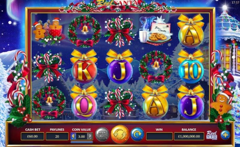 Reel Santa :: Main Game Board