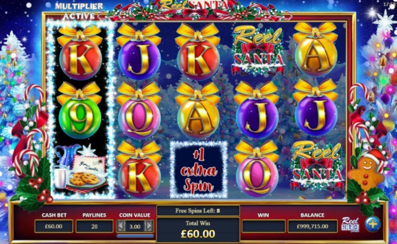 Reel Santa :: Free Spins Game Board