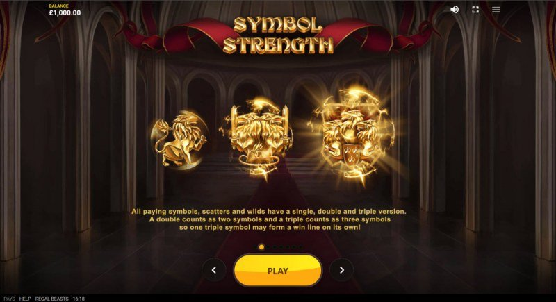 Regal Beasts :: Symbol Strength