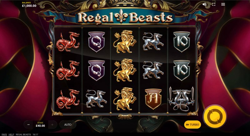 Regal Beasts :: Main Game Board