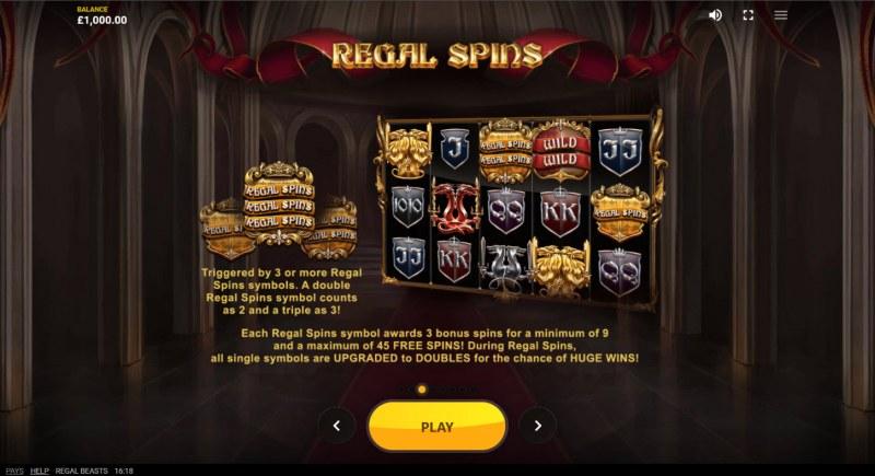 Regal Beasts :: Regal Spins