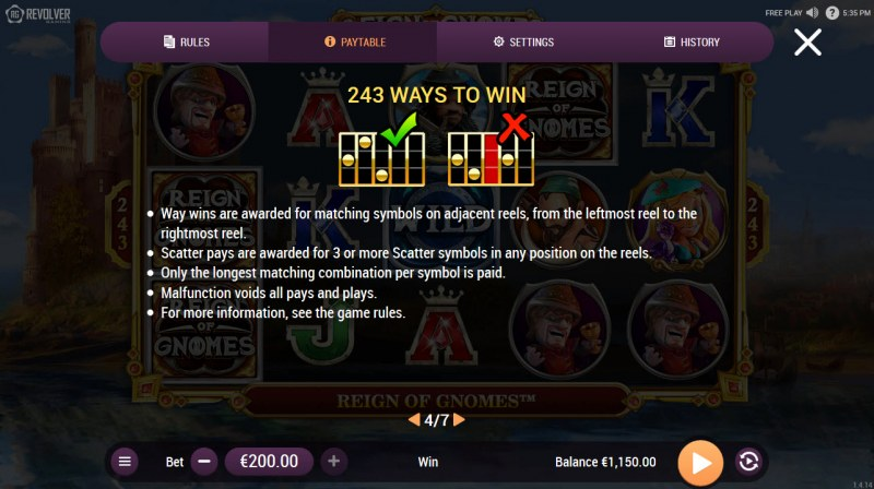 Reign of Gnomes :: 243 Ways to Win