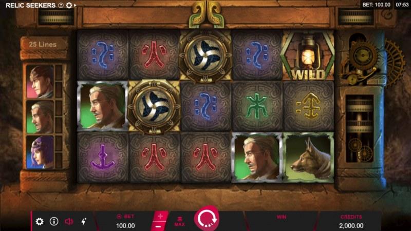 Relic Seekers :: Main Game Board