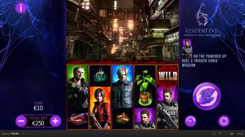 Resident Evil 6 :: Main Game Board
