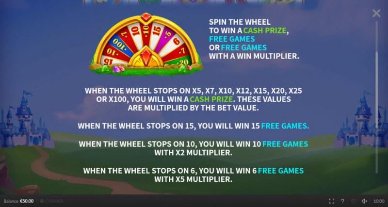 Respin King :: Bonus Game Rules