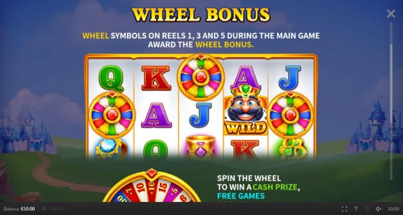 Respin King :: Wheel Bonus