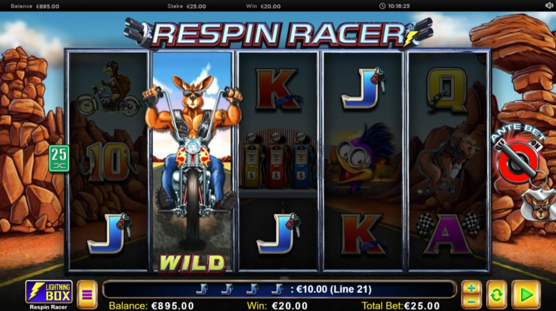Respin Racer :: Four of a kind