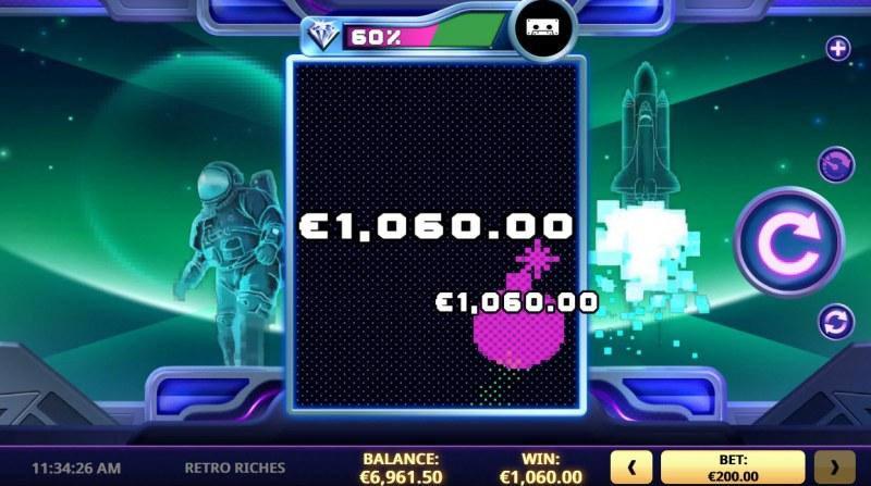 Retro Riches :: Big Win