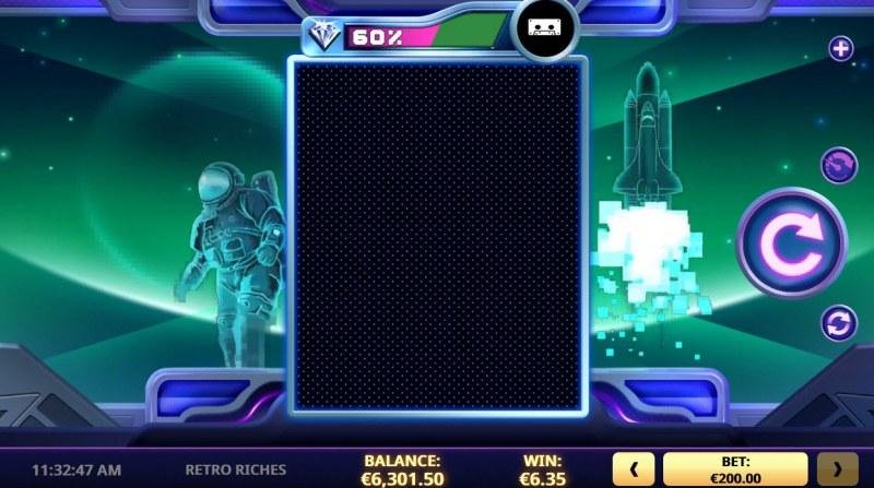 Retro Riches :: Base Game Screen