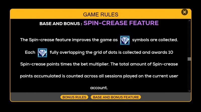 Retro Riches :: Spin-Crease Feature