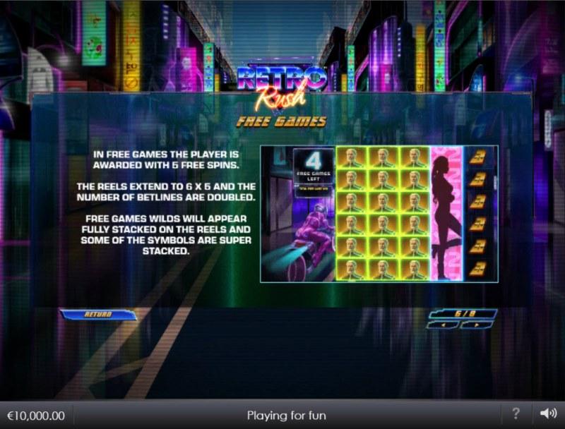 Retro Rush :: Free Game Rules