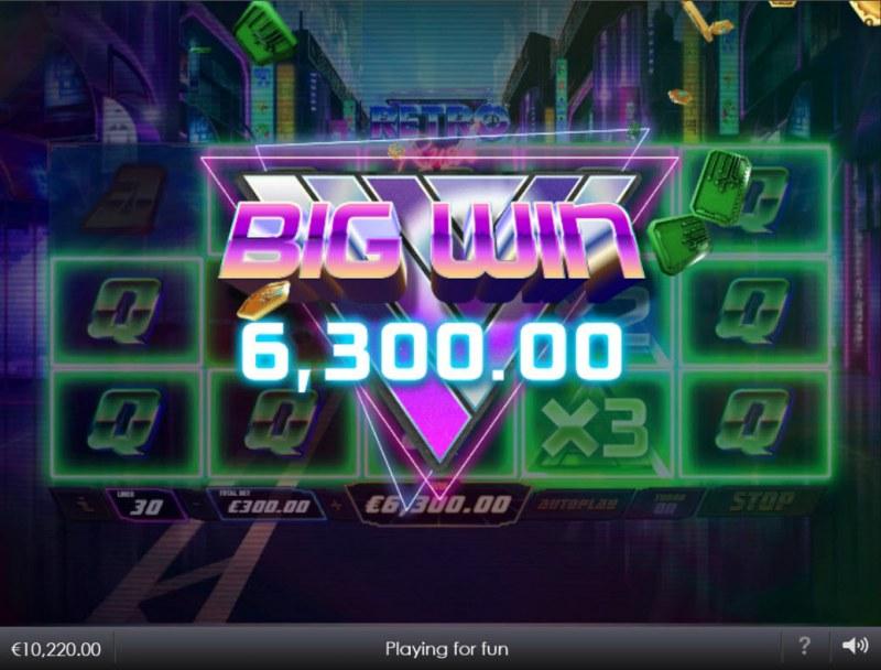 Retro Rush :: Big Win