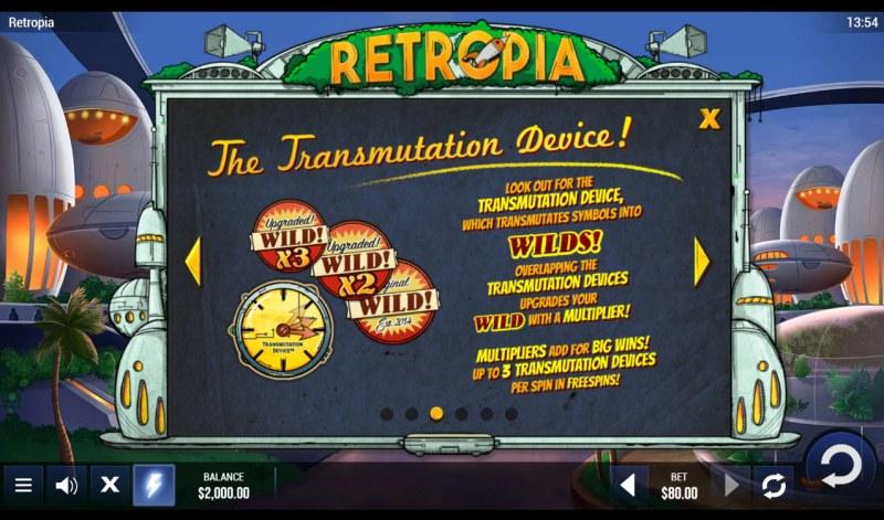 Retropia :: Transmutation Device