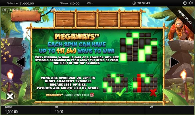Return of Kong Megaways :: Megaways