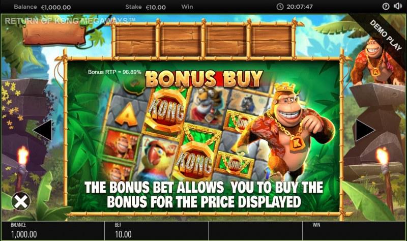 Return of Kong Megaways :: Bonus Buy
