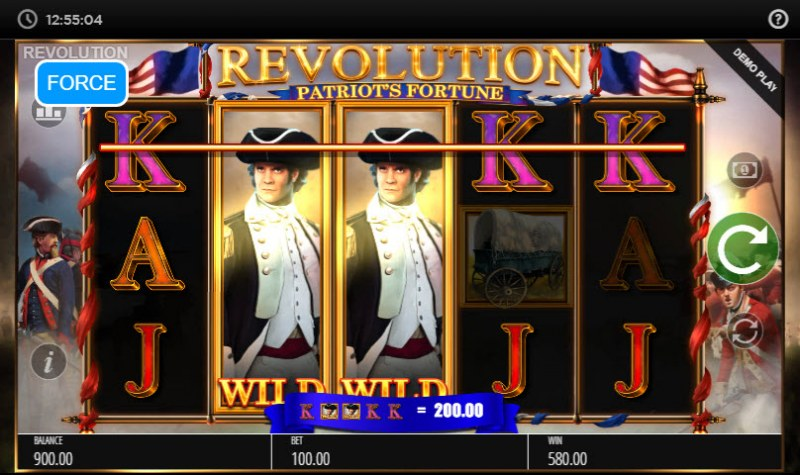 Revolution Patriot's Fortune :: Five of a kind
