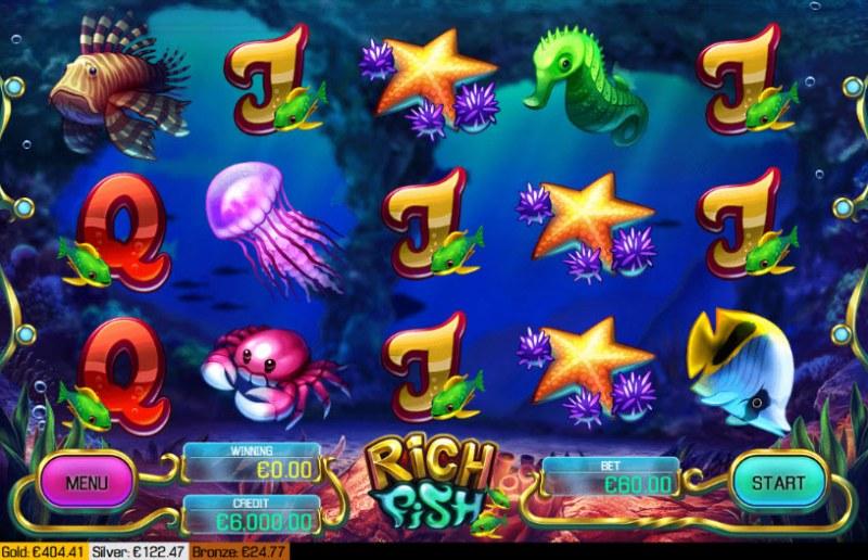 Rich Fish :: Main Game Board