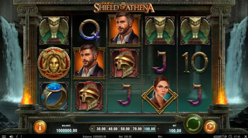 Rich Wild and the Shield of Athena :: Main Game Board