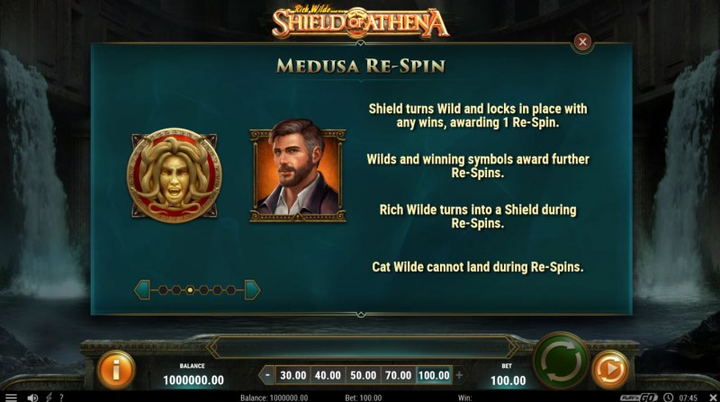 Rich Wild and the Shield of Athena :: Medusa Re-Spin