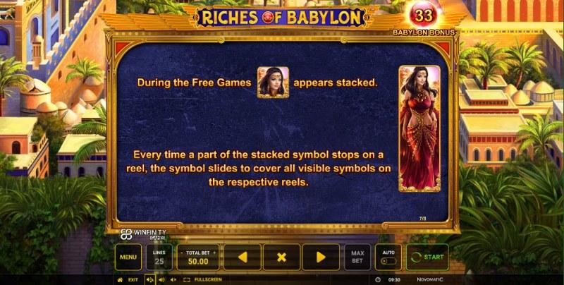 Riches of Babylon :: Wild Symbols Rules