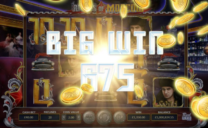Riches of Moscow :: Total free spins payout