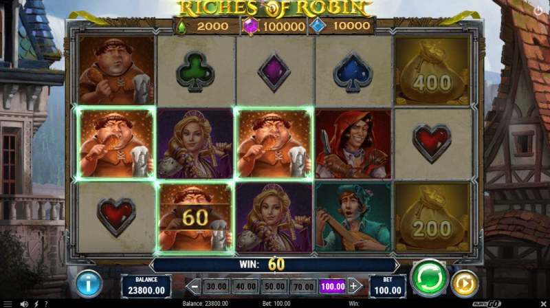 Riches of Robin :: Three of a kind