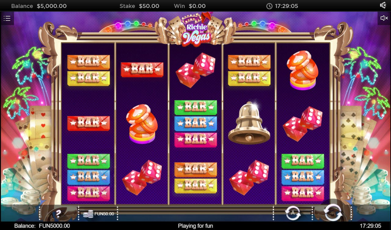 Play slots at Bet Shah: Bet Shah featuring the Video Slots Richie in Vegas with a maximum payout of $200,000