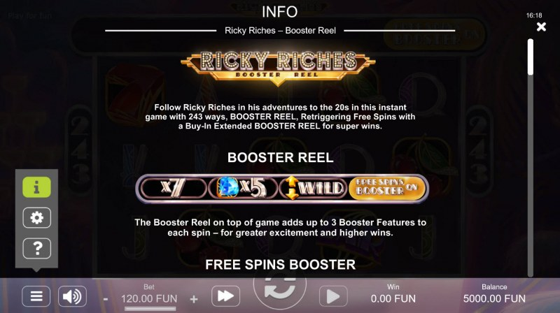 Ricky Riches Booster Reel :: Booster Reel