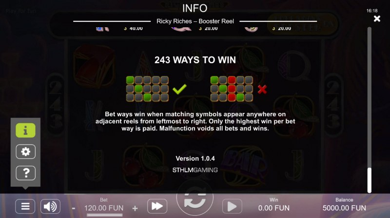 Ricky Riches Booster Reel :: 243 Ways to Win