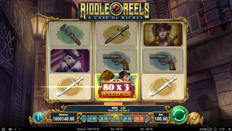Riddle Reels A Case of Riches :: Three of a kind