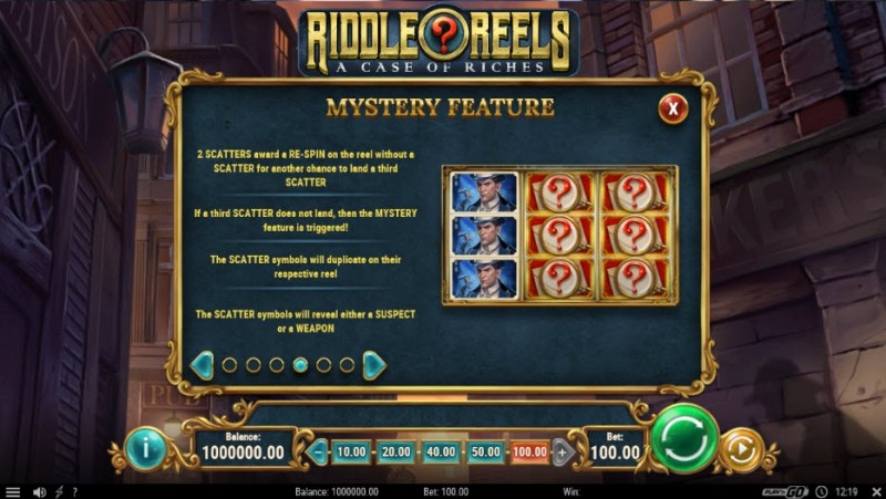 Riddle Reels A Case of Riches :: Mystery Feature