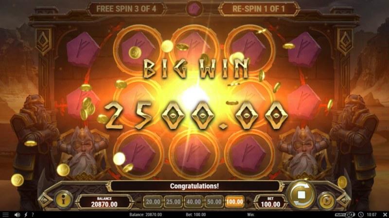 Ring of Odin :: Big Win