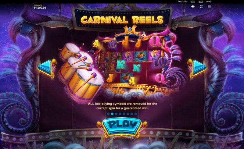 Rio Stars :: Carnival Reels