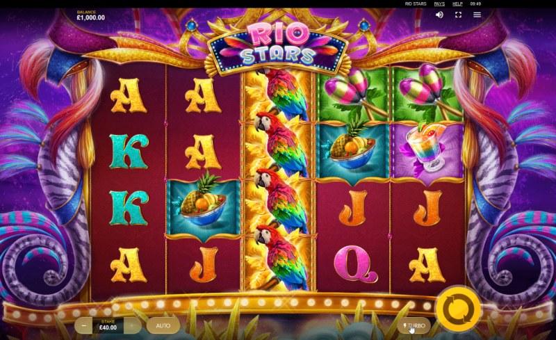Rio Stars :: Main Game Board