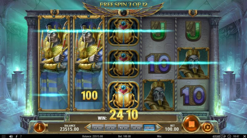 Rise of Dead :: Mega Stacks leads to multiple winning paylines