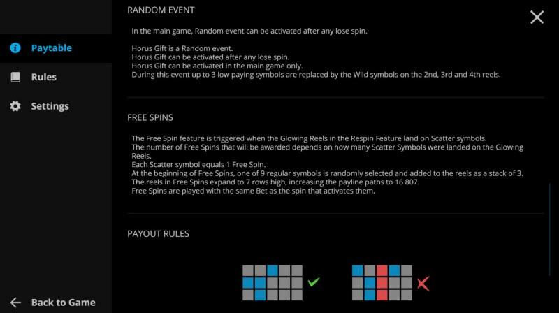 Rise of Horus :: General Game Rules
