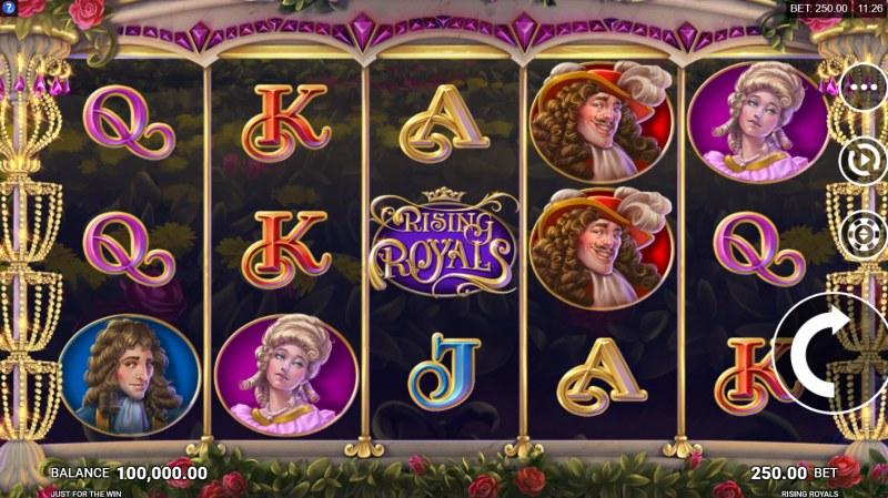 Rising Royals :: Main Game Board