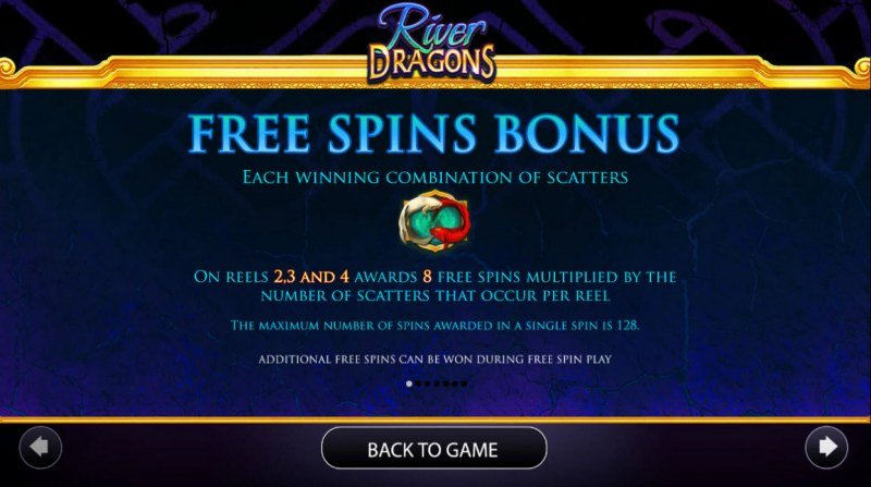 River Dragons :: Free Spins Rules