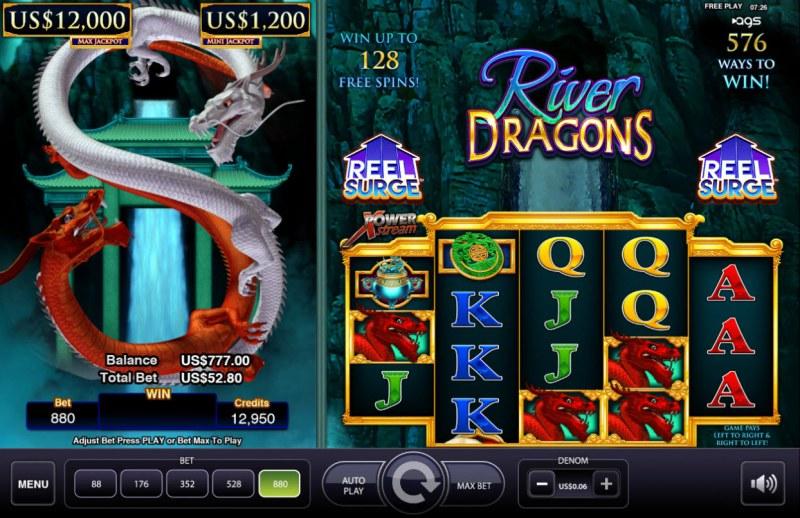 River Dragons :: Main Game Board