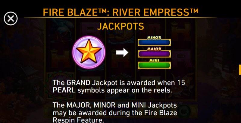 River Empress Fire Blaze :: Fire Blaze