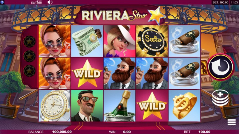 Riviera Star :: Main Game Board