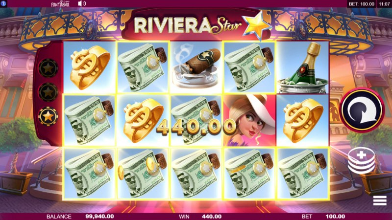 Riviera Star :: Big Win
