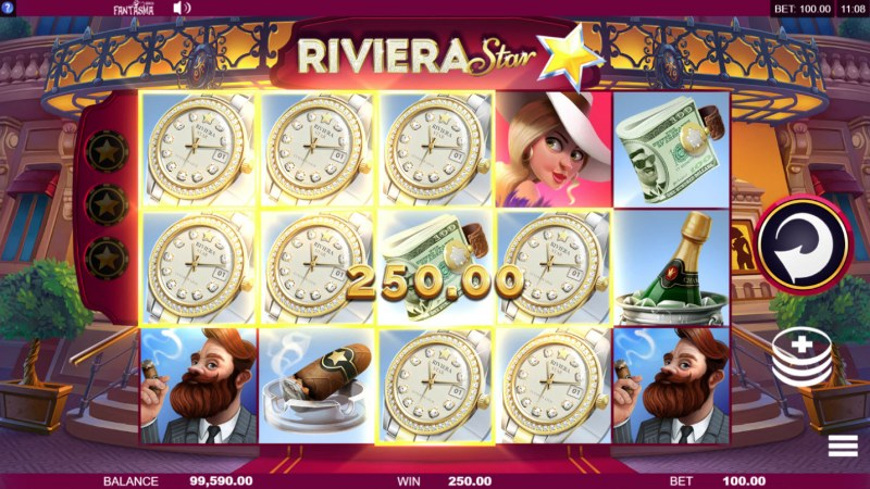 Riviera Star :: Multiple winning paylines