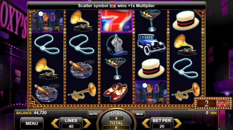 Roaring 7's :: Free Spins Game Board