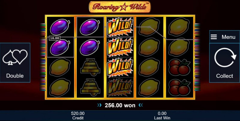 Roaring Wilds :: Multiple winning combinations
