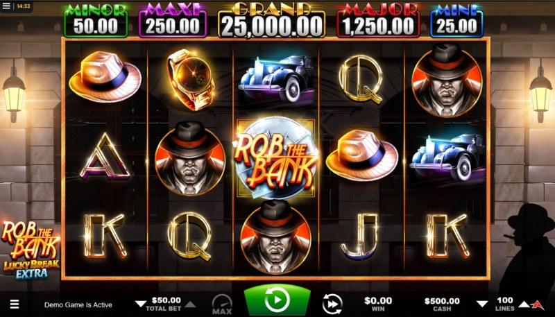 Rob the Bank :: Base Game Screen
