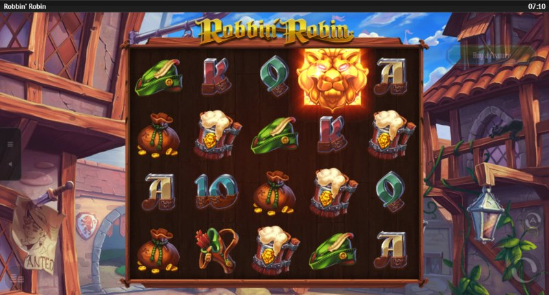 Robbin Robin :: Lion scatter activates feature