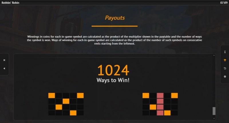 Robbin Robin :: 1024 Ways to Win