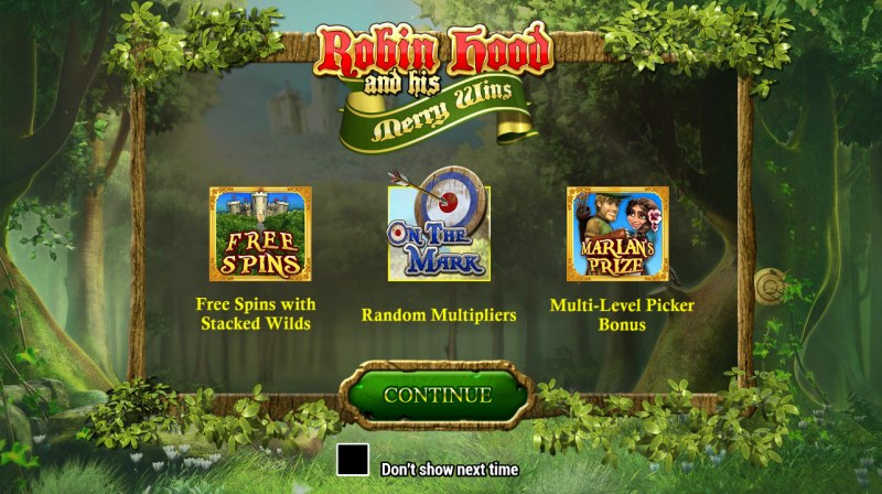 Robin Hood and his Merry Wins :: Introduction
